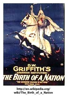 Souvenir Booklet, D.W. Griffith, Birth of a Nation